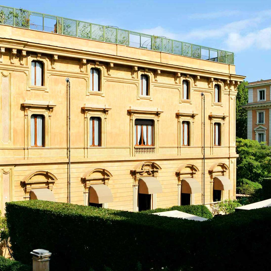 Villa Spalletti Trivelli A 5 Star Luxury Hotel In Rome Via Veneto Piazza