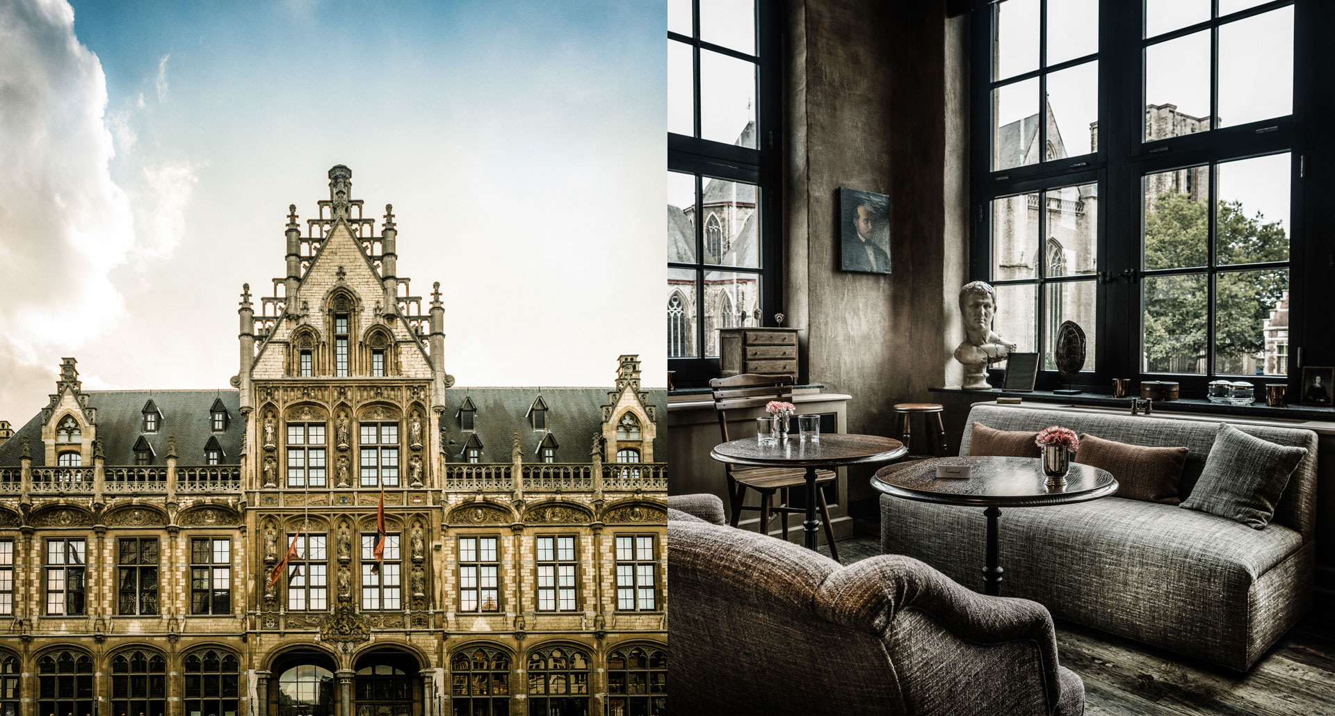 1898 The Post boutique hotel in Gent, Belgium