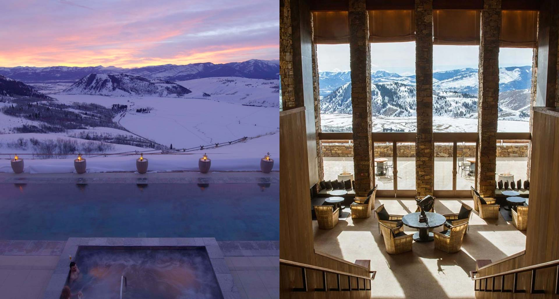 Amangani - luxury boutique hotel in Jackson Hole, WY