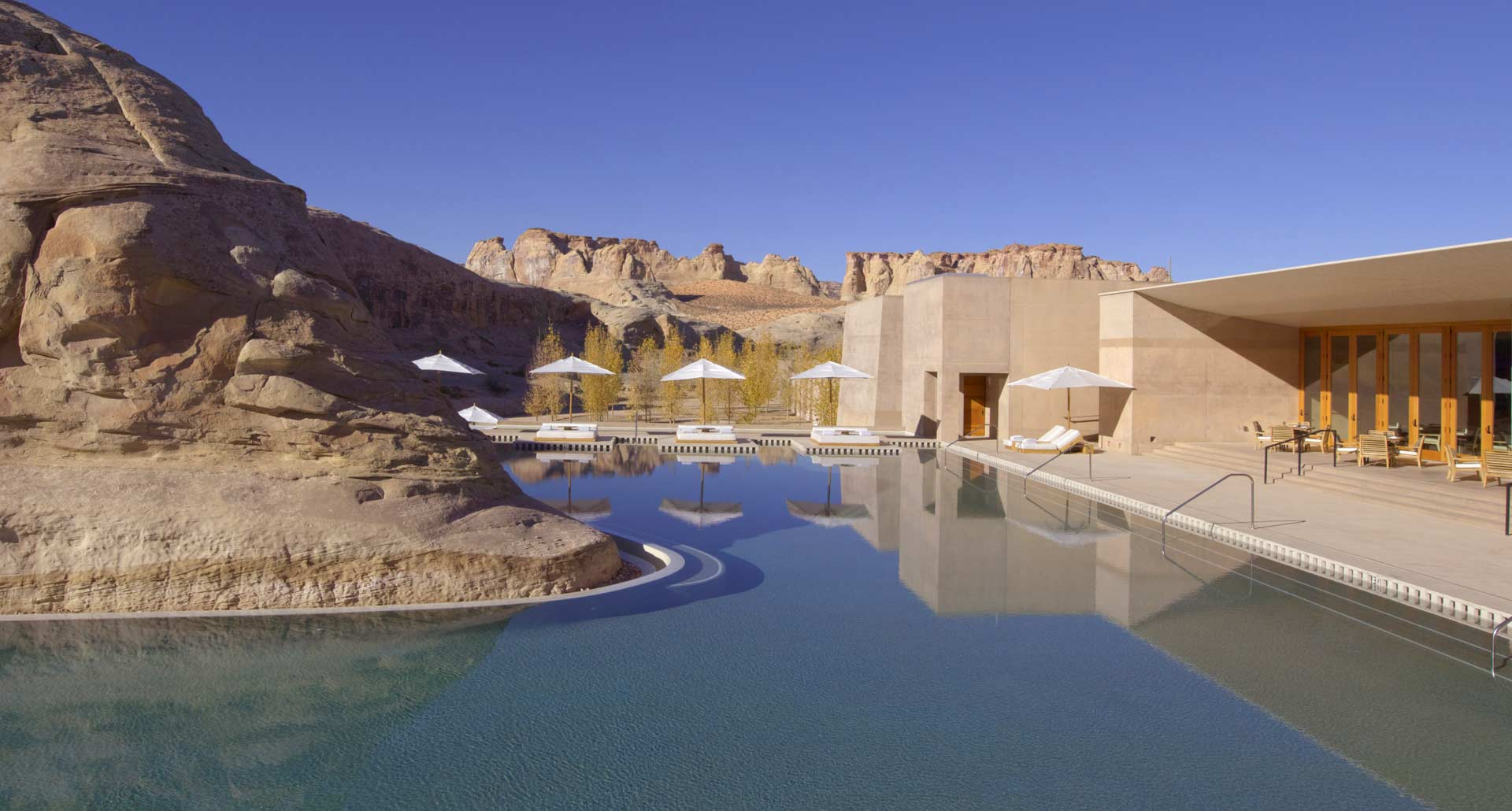 Amangiri - best hotel pool in Canyon Point, Utah