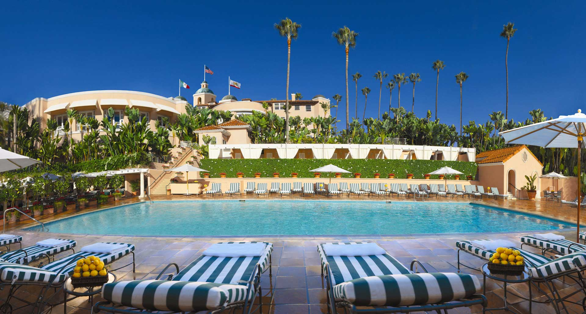 The Beverly Hills Hotel - best hotel poolin Los Angeles