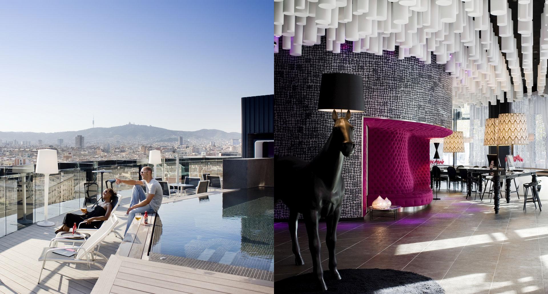 Barcelo Raval - best nightlife boutique hotel in Barcelona