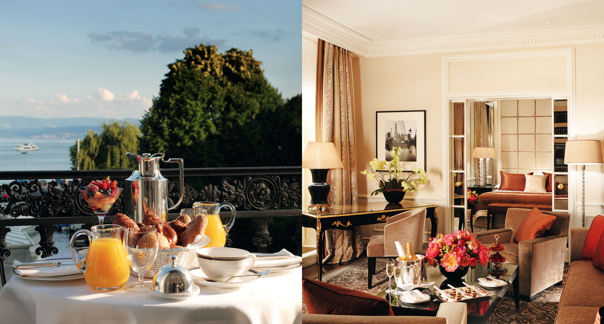 Baur Au Lac - romantic boutique hotel in Zurich, Switzerland
