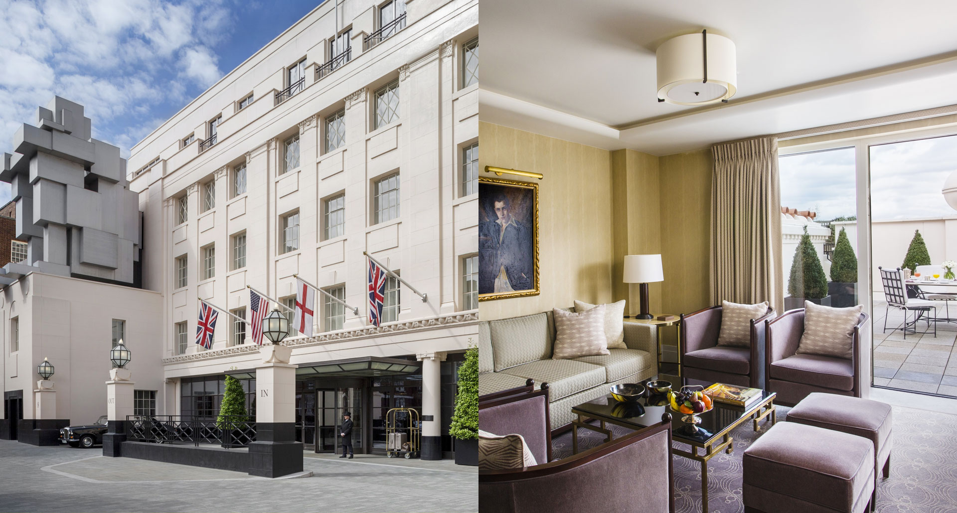 The Beaumont Hotel - romantic boutique hotel in London, England