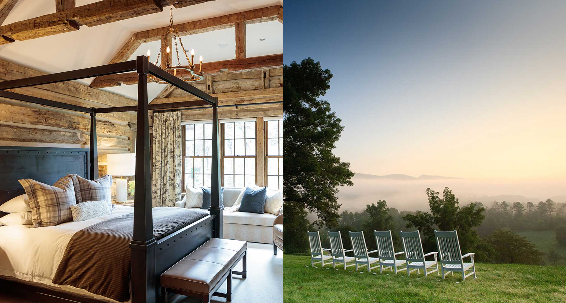 Blackberry Farm - romantic boutique hotel in Great Smoky Mountains, Tennessee
