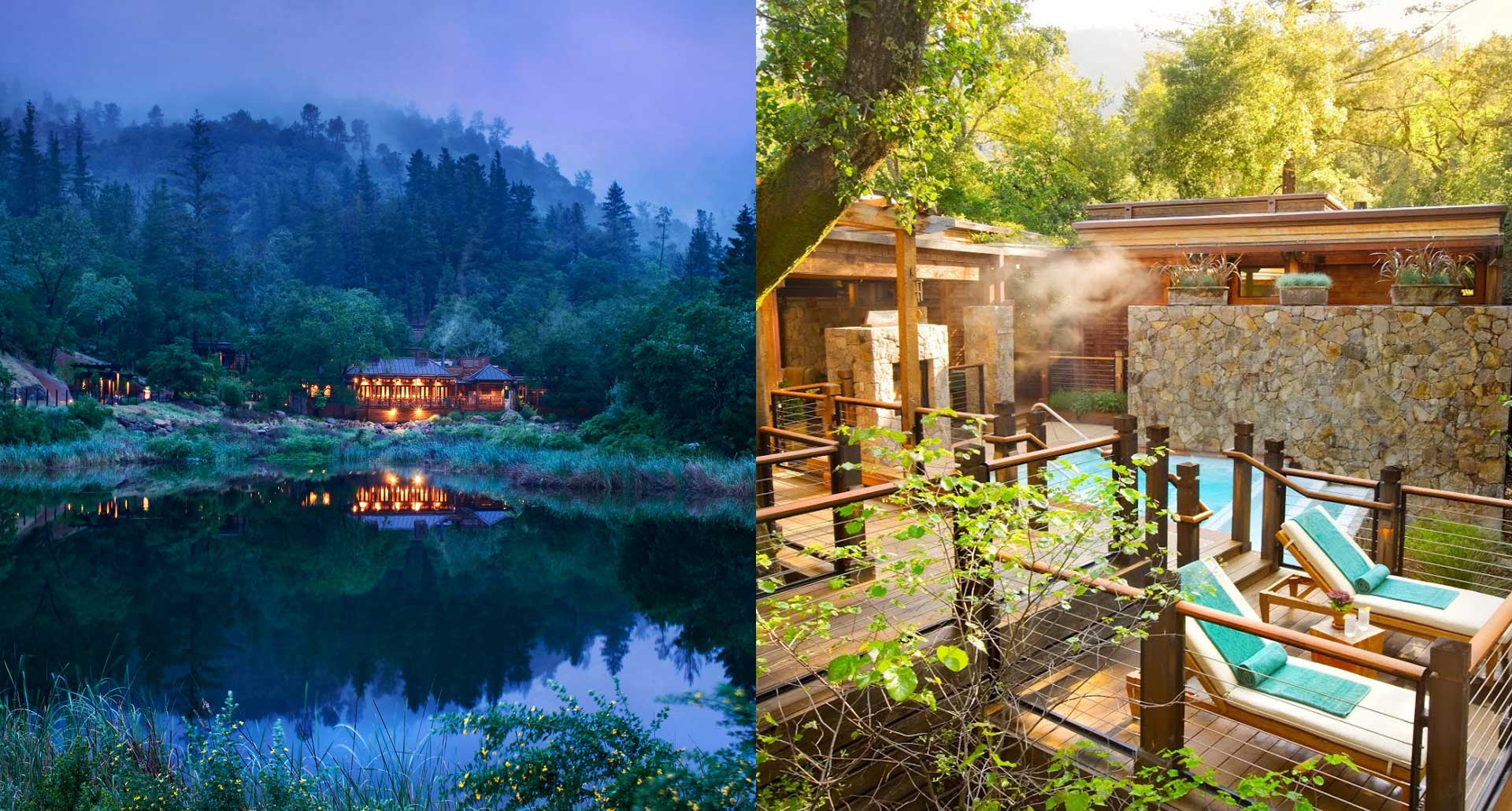 Calistoga Ranch - romantic boutique hotel in Sonoma Valley, California