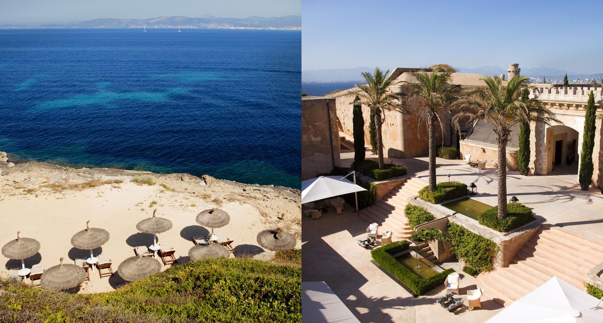 Cap Rocat - romantic boutique hotel in Mallorca, Spain