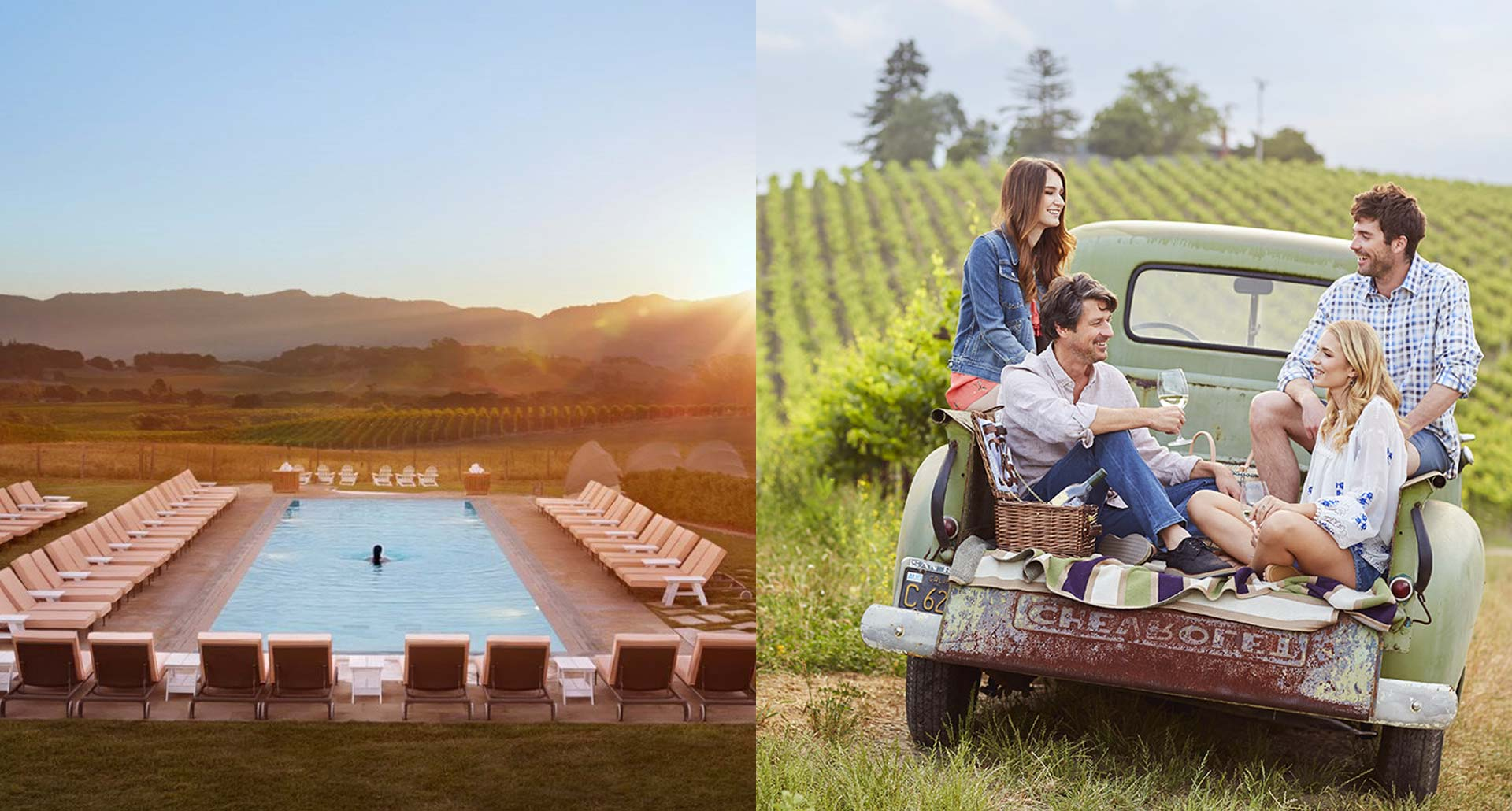 Carneros Resort and Spa - boutique hotel resort in Napa, California