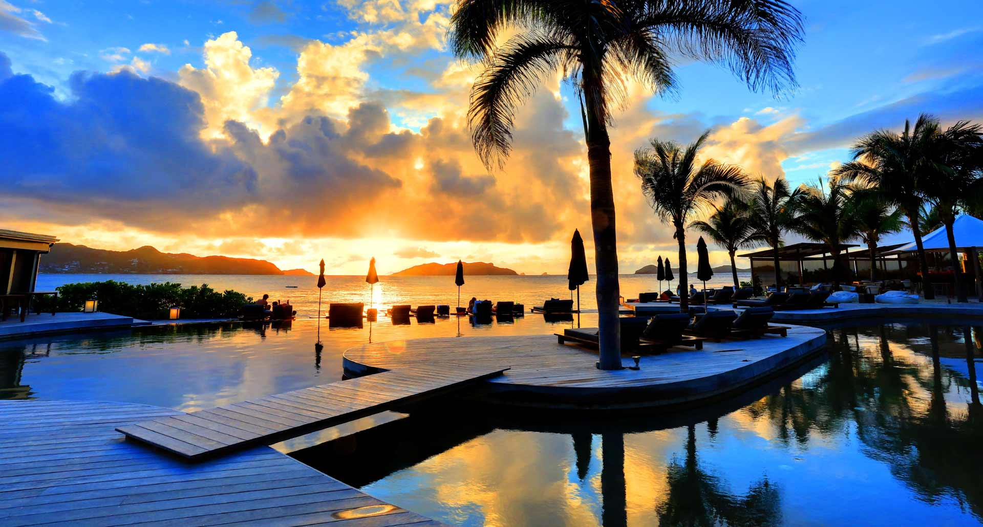 Hotel Christopher - best hotel pool in St Barts