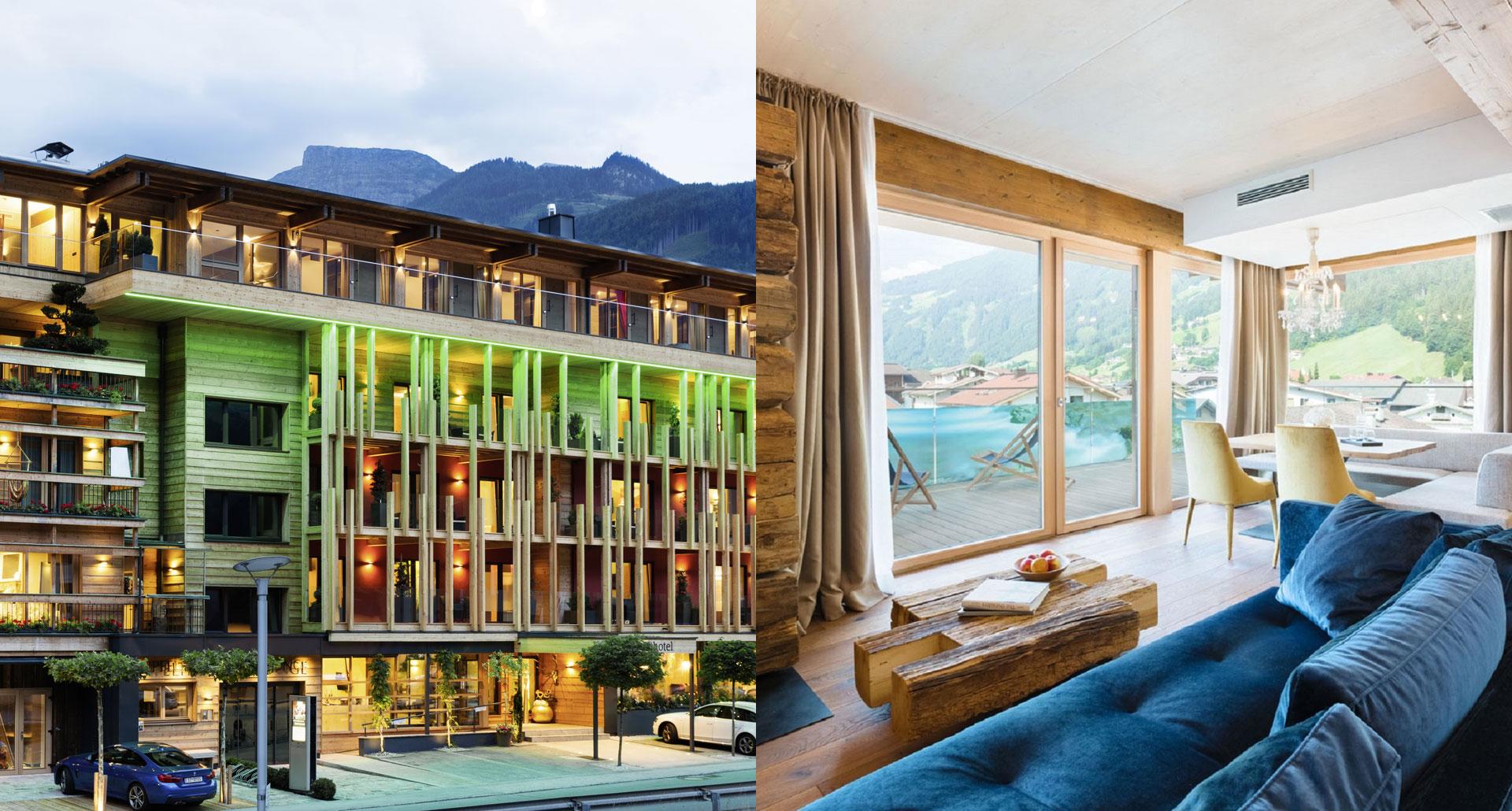 Das Posthotel boutique hotel in Ziller, Austria