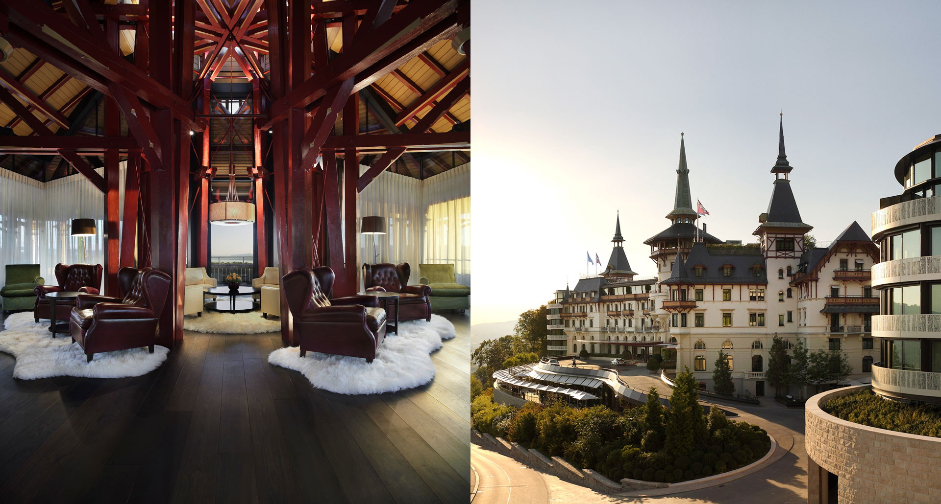 The Dolder Grand boutique hotel in Zurich, Switzerland
