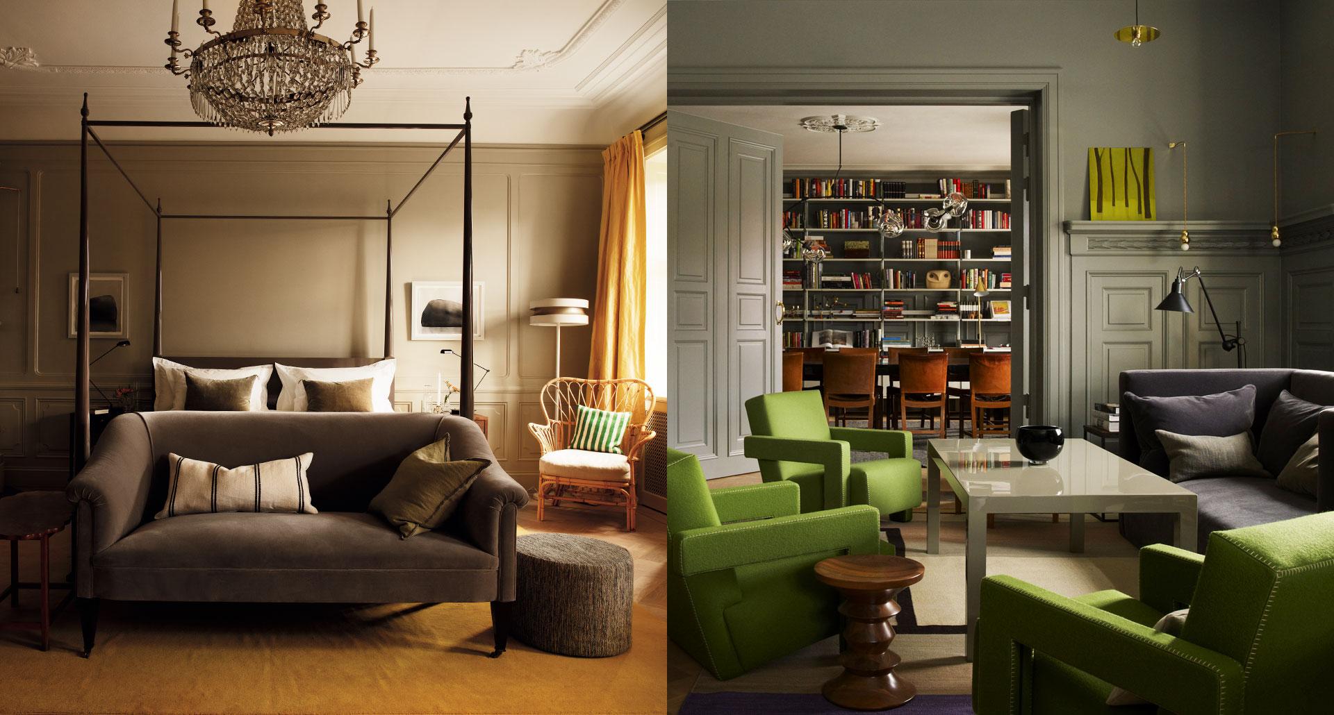 Ett Hem boutique hotel in Stockholm, Sweden
