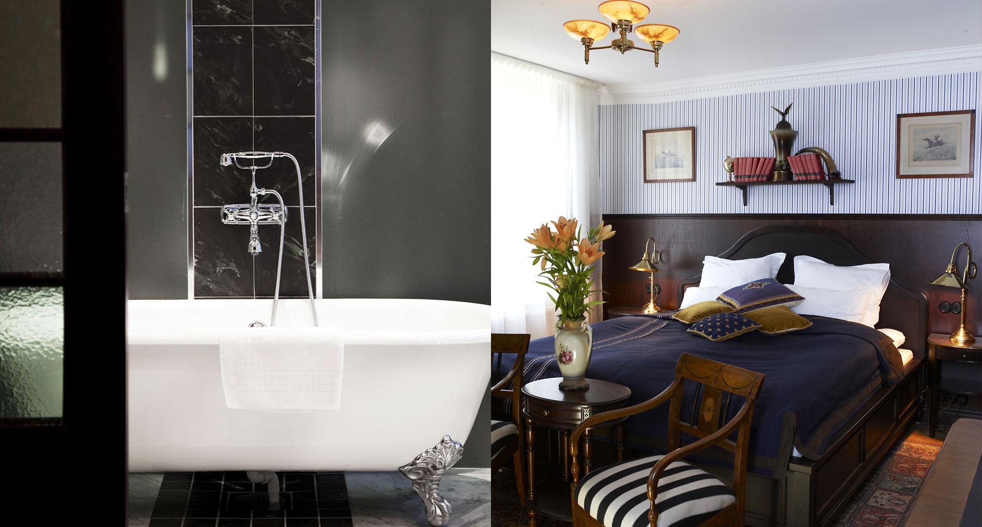 c/o Haringe Slott - romantic boutique hotel in Stockholm, Sweden