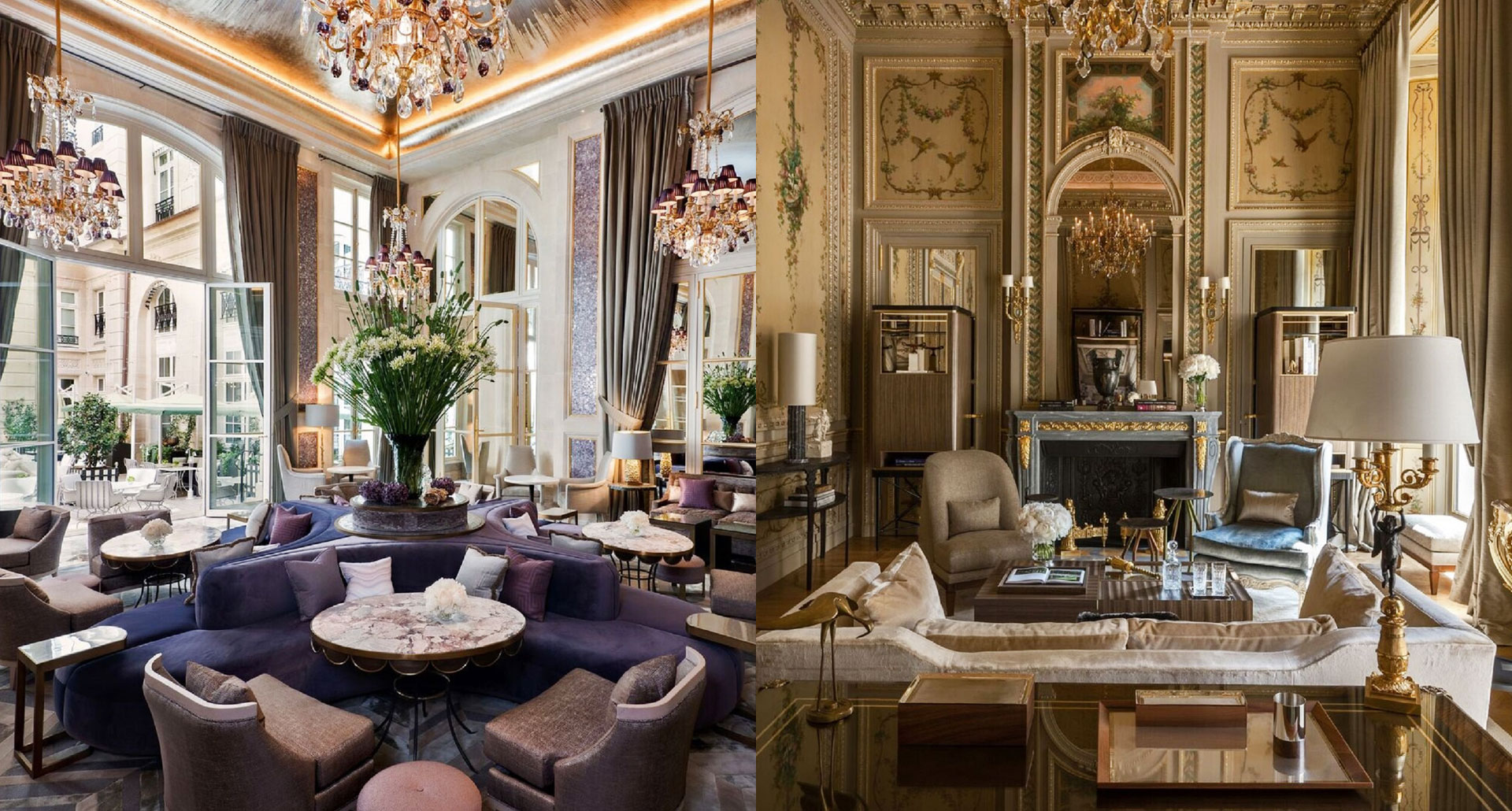 Hotel de Crillon boutique hotel in Paris, France