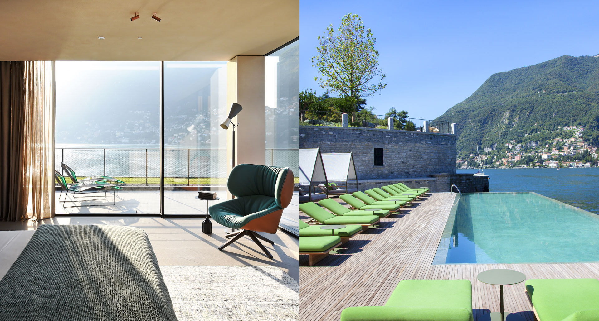 Il Sereno boutique hotel in Lake Como, Italy