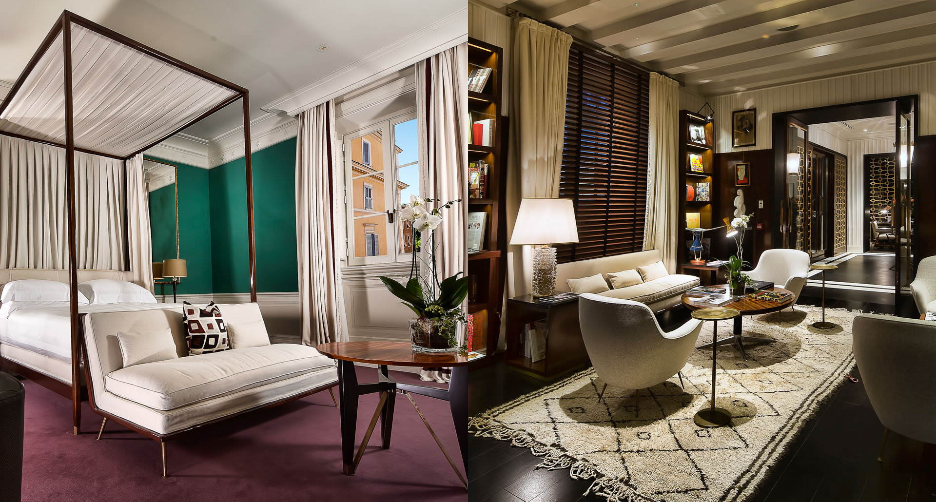 JK Place Roma - romantic boutique hotel in Rome, Italy