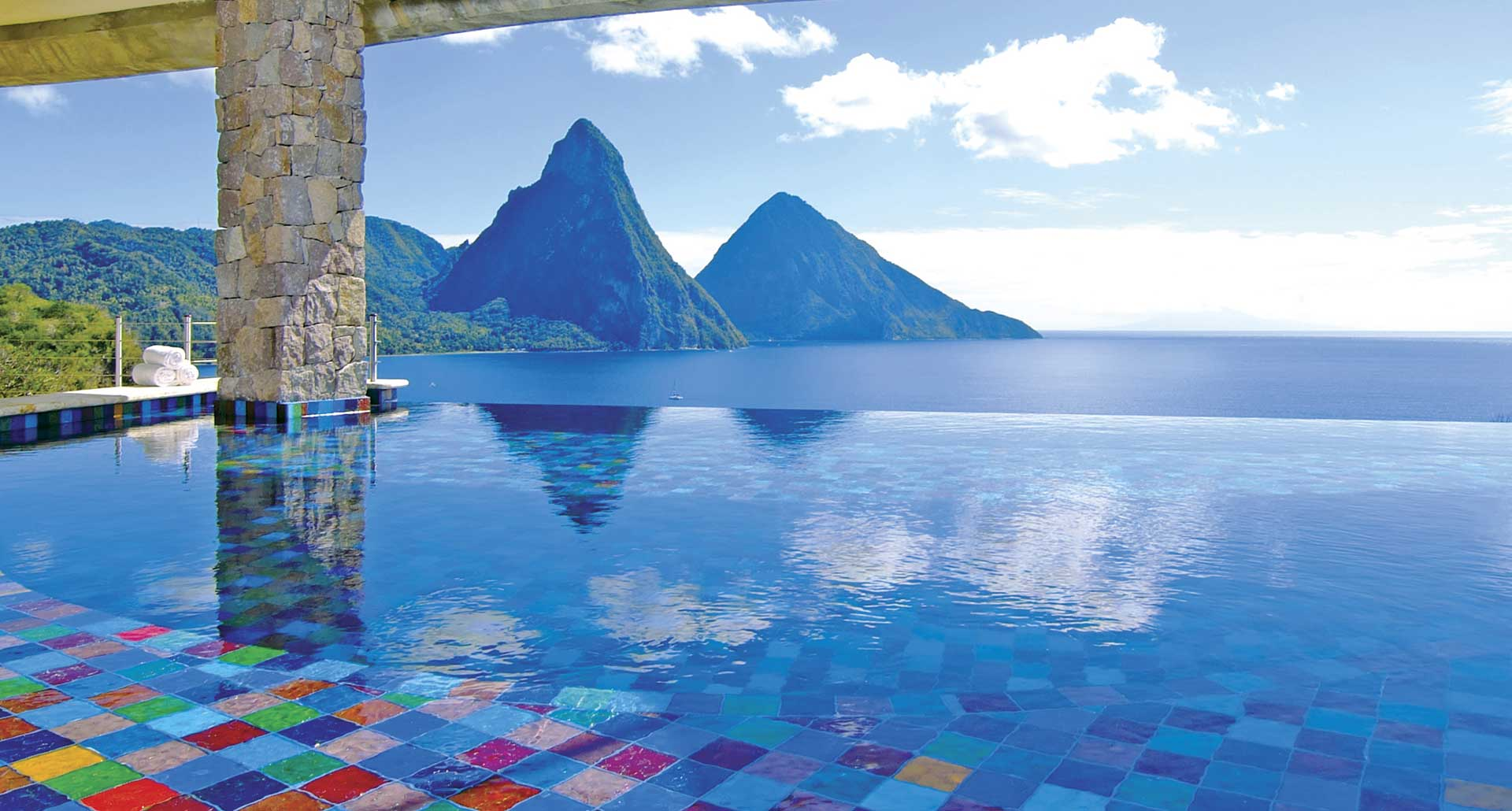 Jade Mountian best hotel pool in Soufriere, St. Lucia