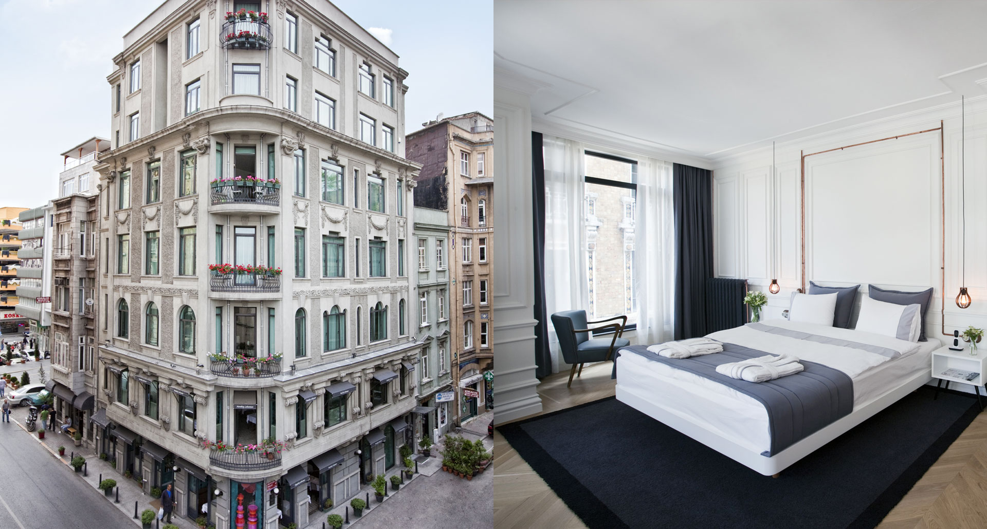 Karakoy Rooms boutique hotel in Istanbul, Turkey