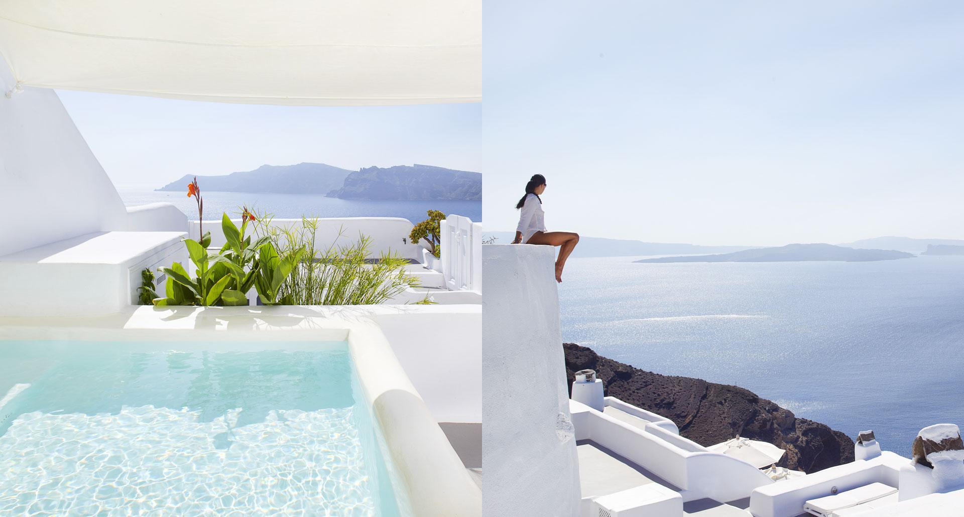 Kirini Suites & Spa - romantic boutique hotel in Santorini, Greece