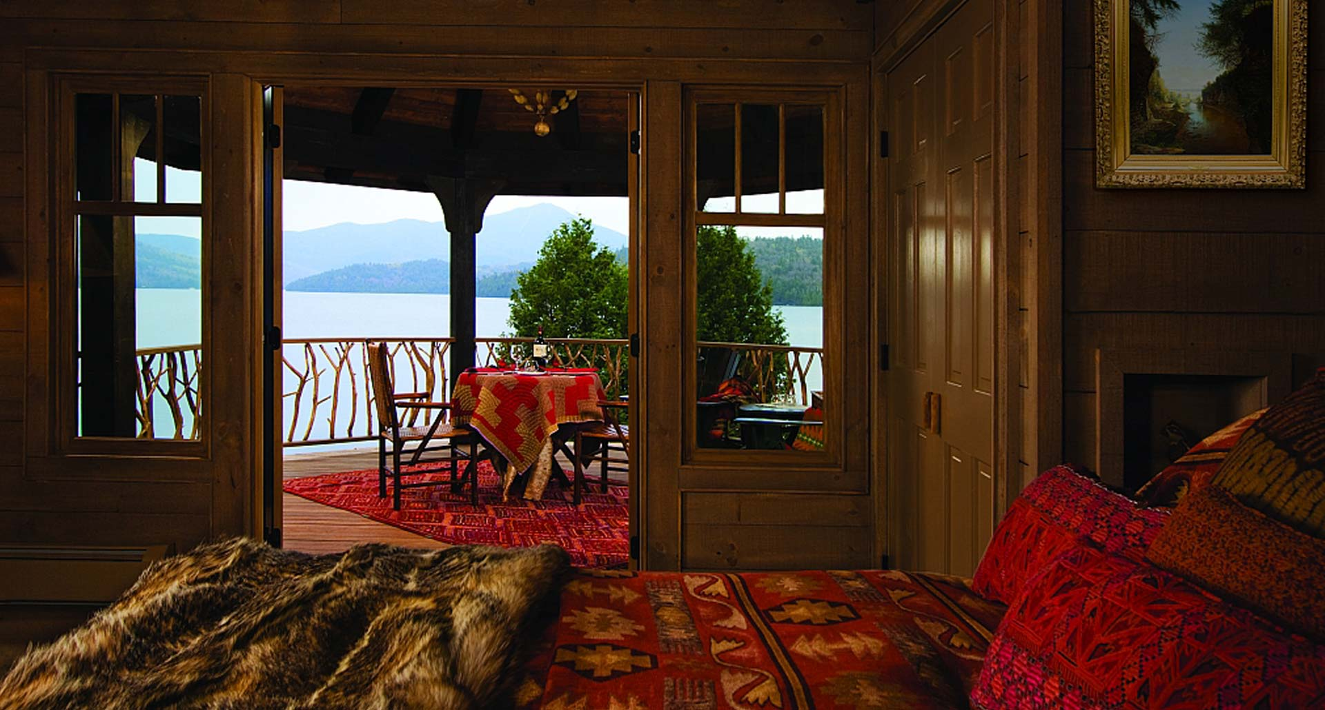 Lake Placid Lodge - boutique adults only boutique hotel in Lake Placid, NY
