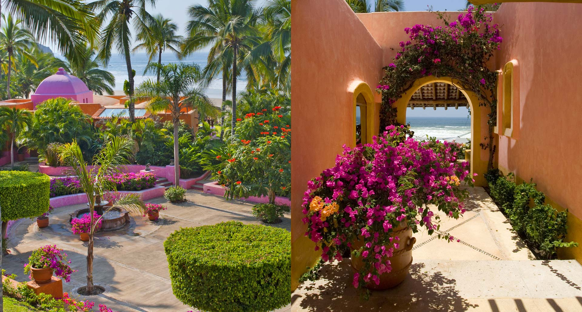 Las Alamandas - romantic boutique hotel in  Mexico