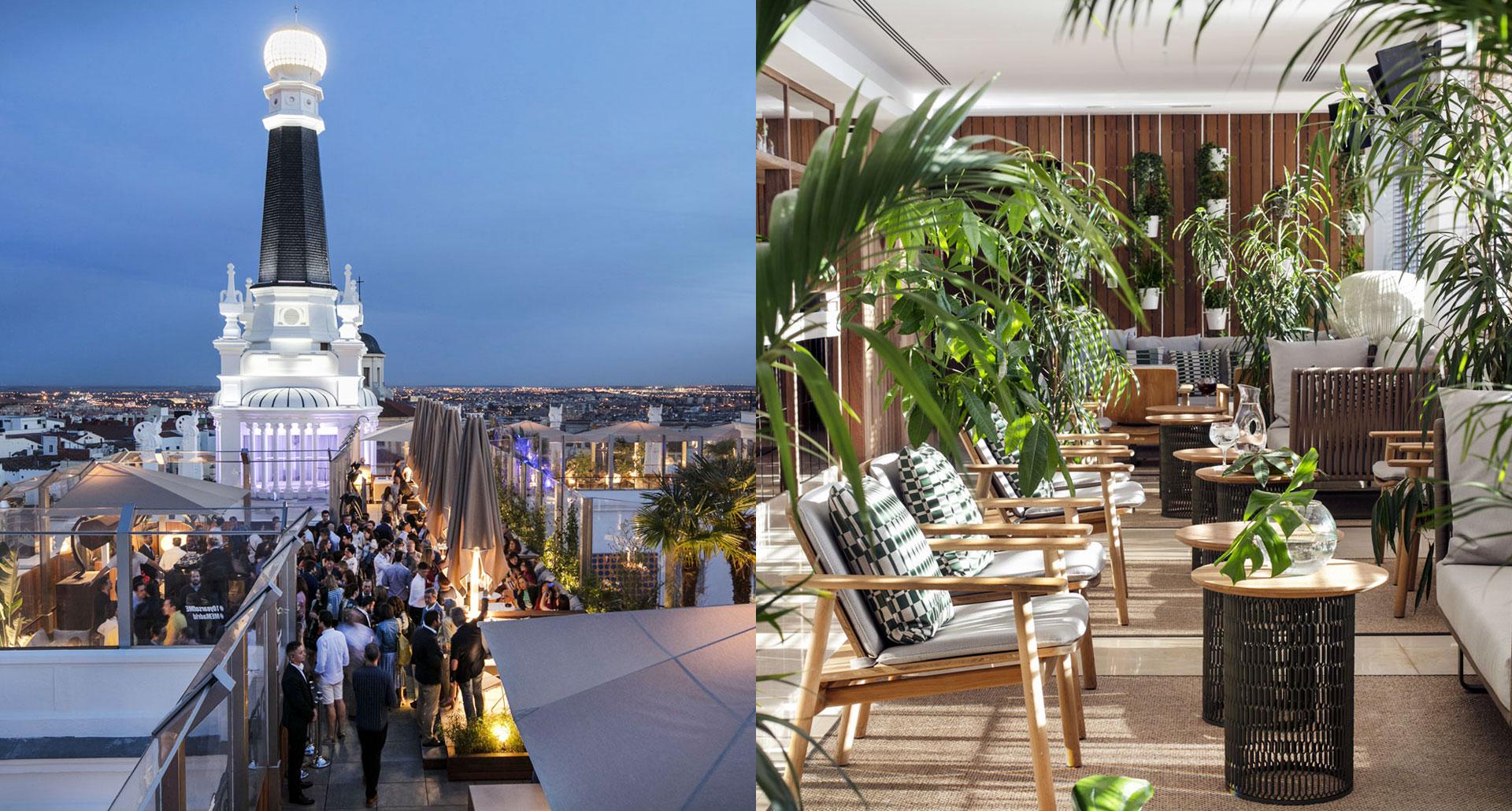 ME Madrid - best nightlife boutique hotel in Madrid, Spain