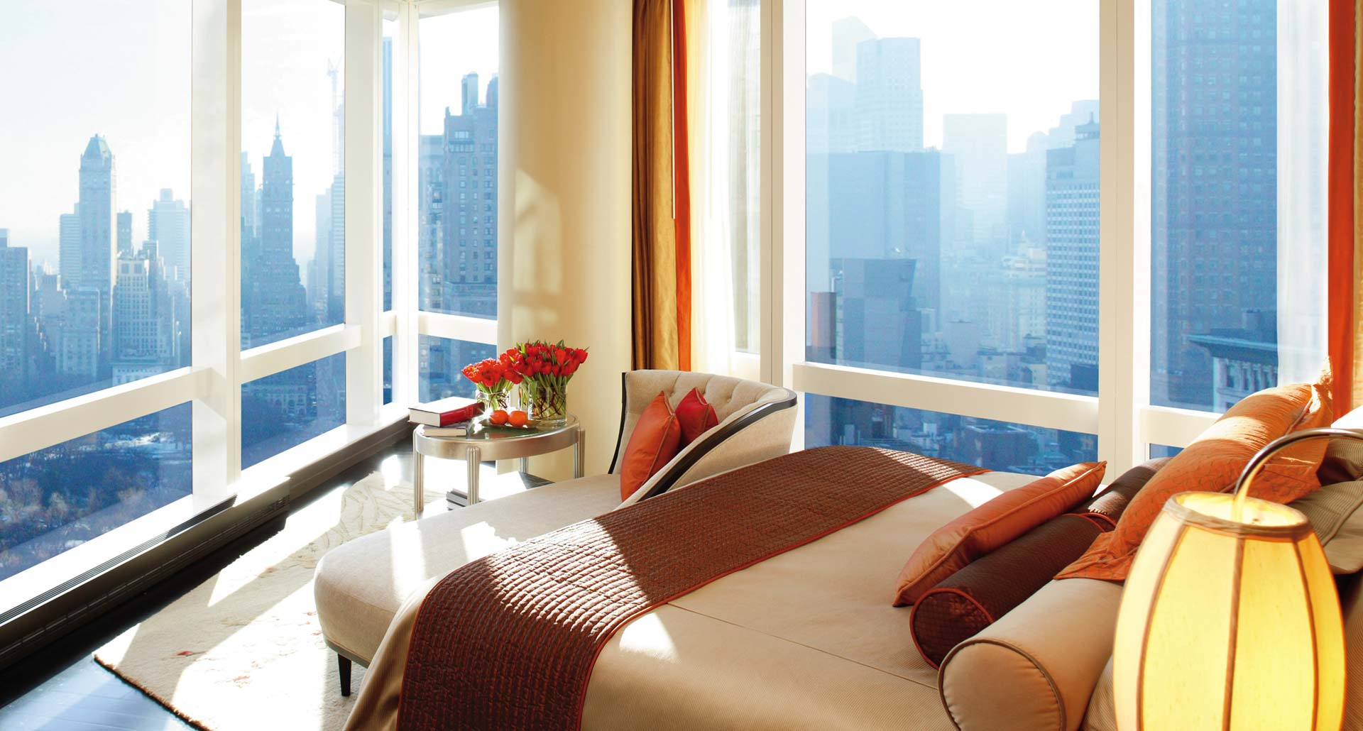Mandarin Oriental New York - luxury hotel in Columbus Circle, NYC