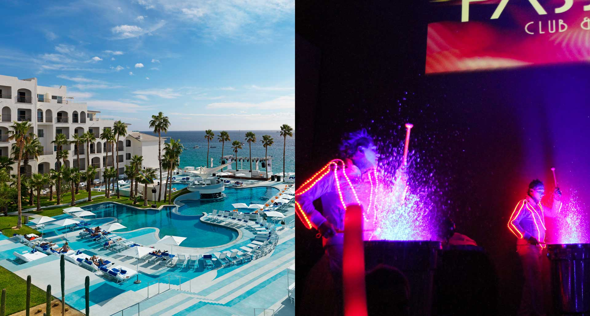 ME Cabo - best nightlife boutique hotel in Los Cabos Mexico