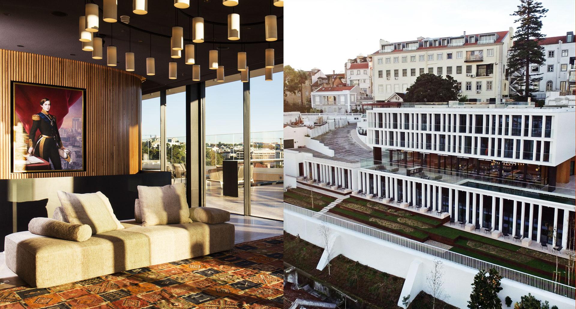 Memmo Principe Real Hotel Lisboa - boutique hotel in Lisbon