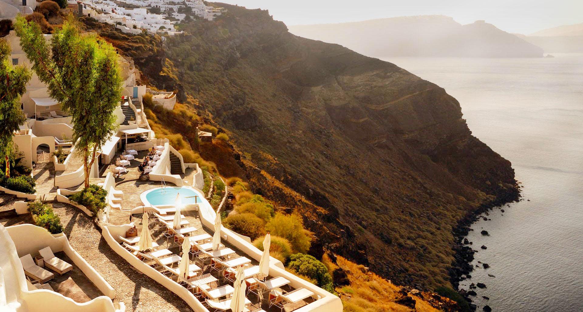 Mystique Hotel - boutique hotel in Santorini