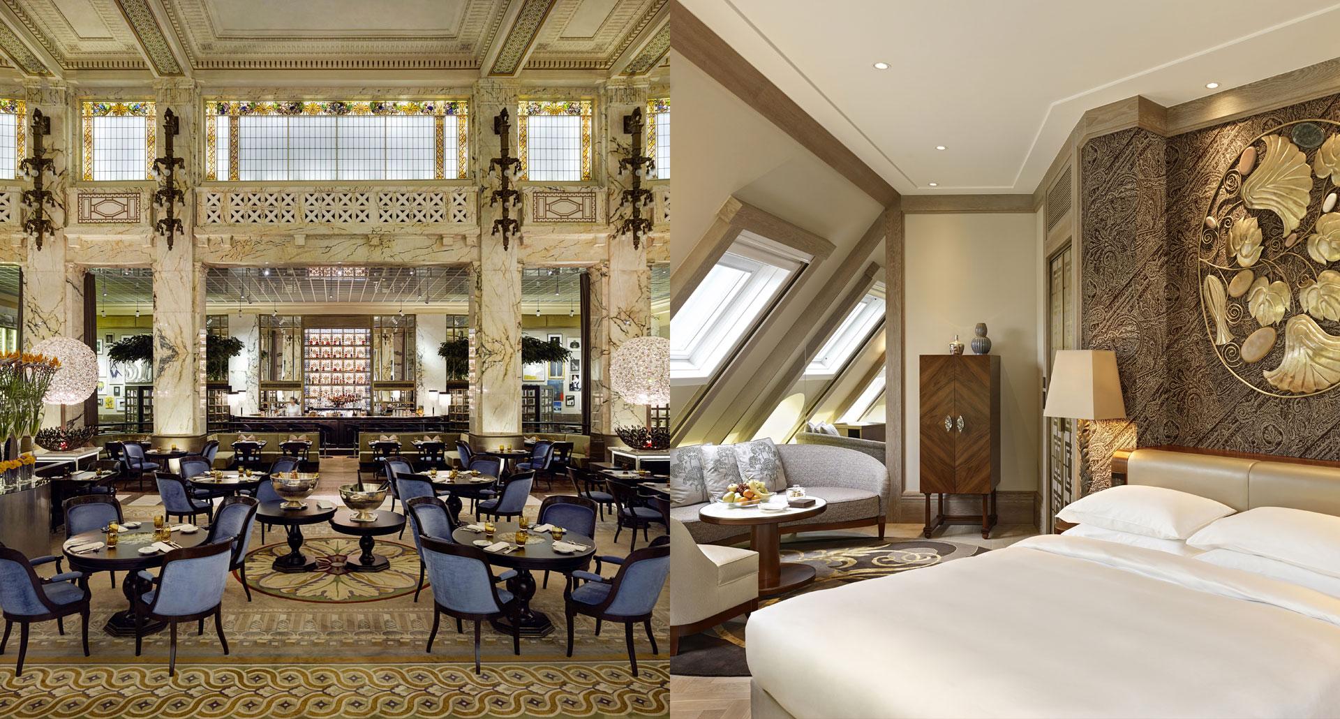 Park Hyatt Vienna boutique hotel in Vienna, Austria