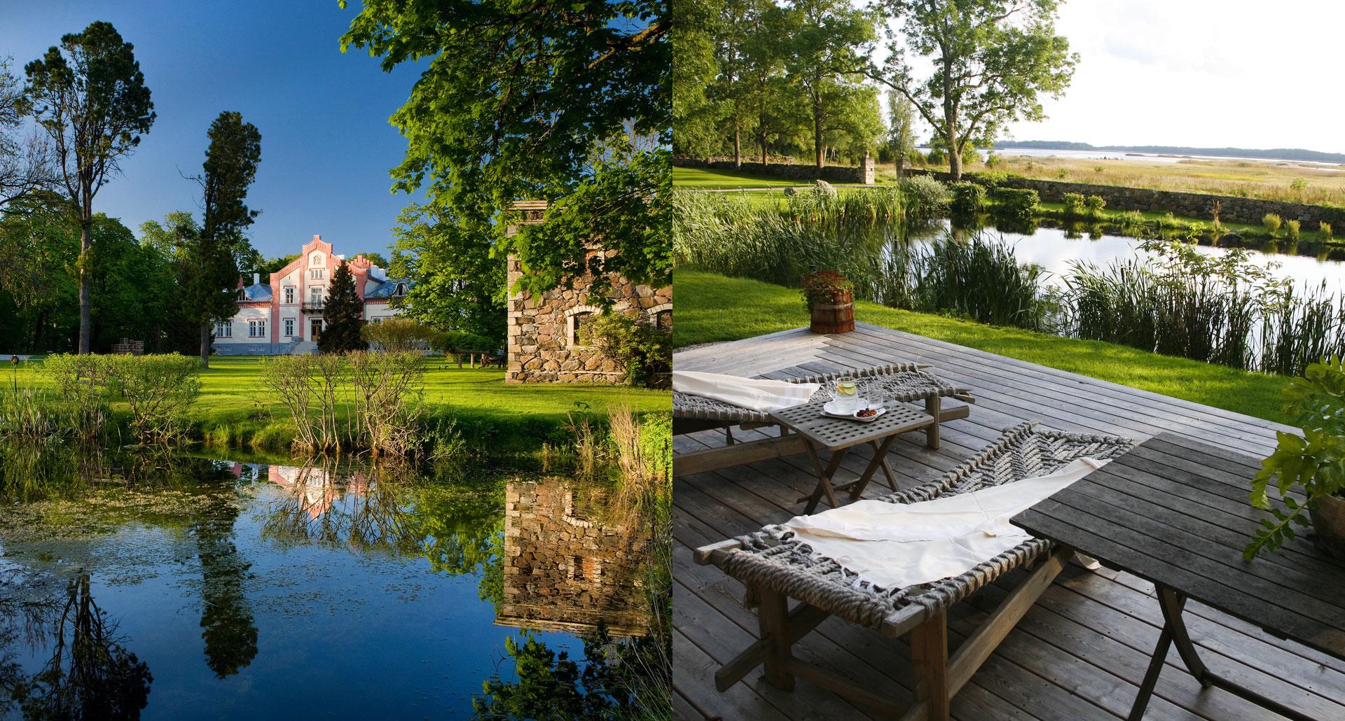 Padaste Manor - romantic boutique hotel in Muhu Island, Estonia