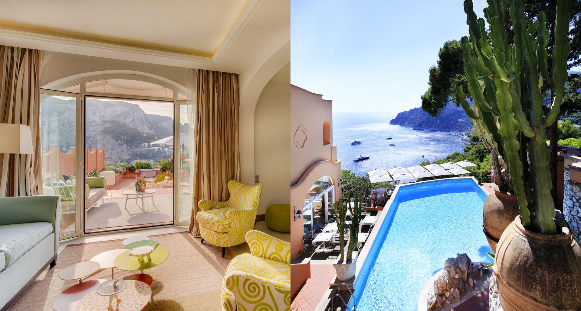 Hotel Punta Tragara - boutique hotel in Capri, Italy