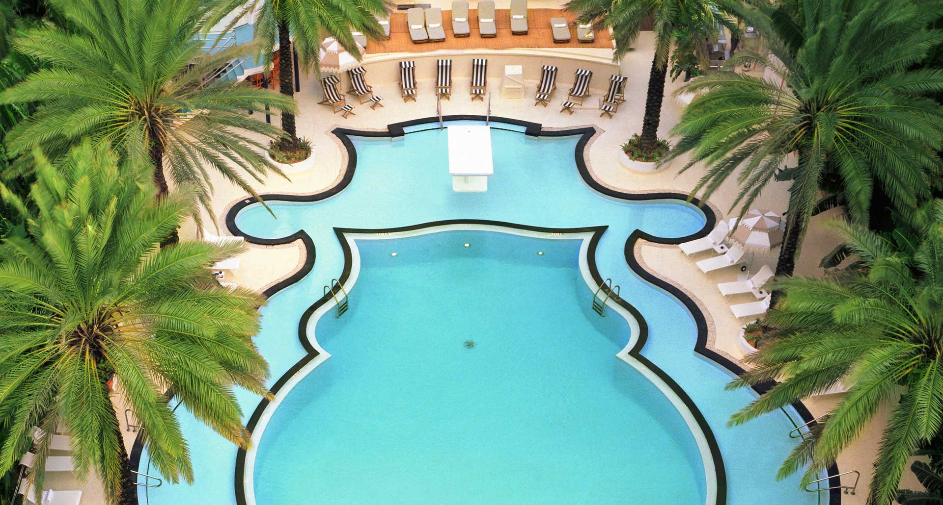 The Raleigh - best hotel pool in South Beach
