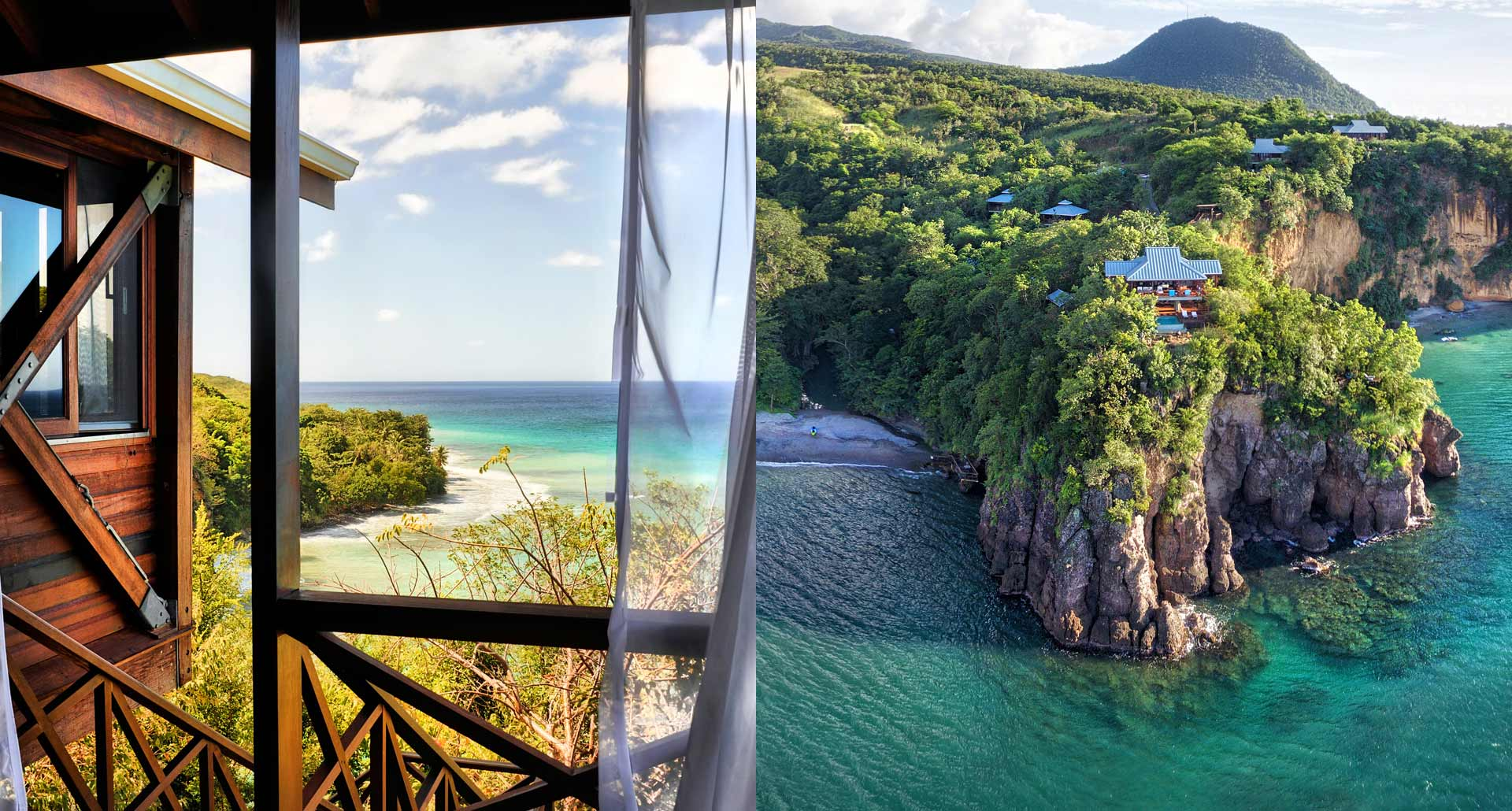 Secret Bay - romantic boutique hotel in Portsmouth, Dominica