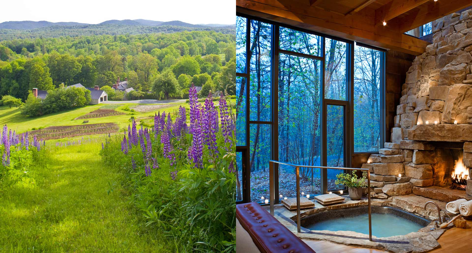 Twin Farms - romantic boutique hotel in Barnard, Vermont