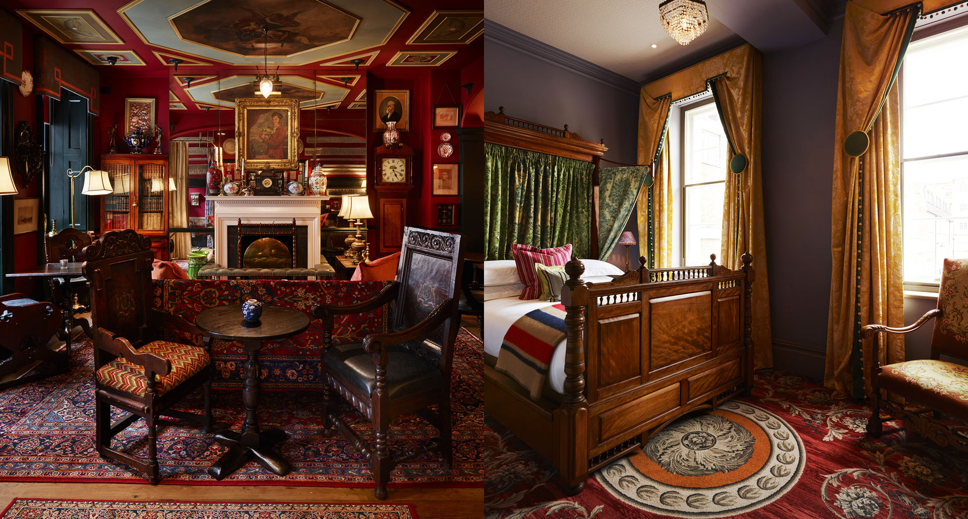 The Zetter Townhouse Marylebone boutique hotel in London, England