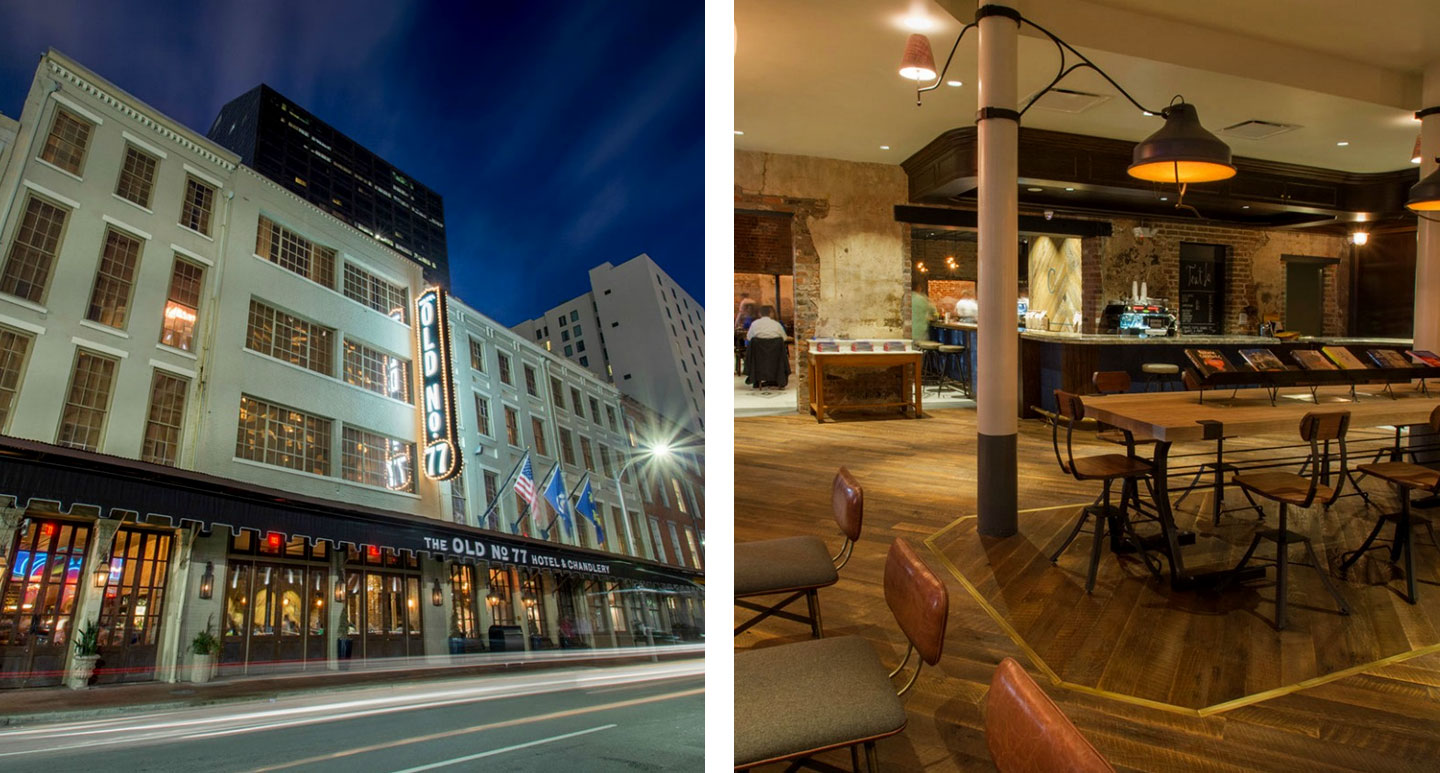 Old No. 77 Hotel & Chandlery - boutique hotel in New Orleans