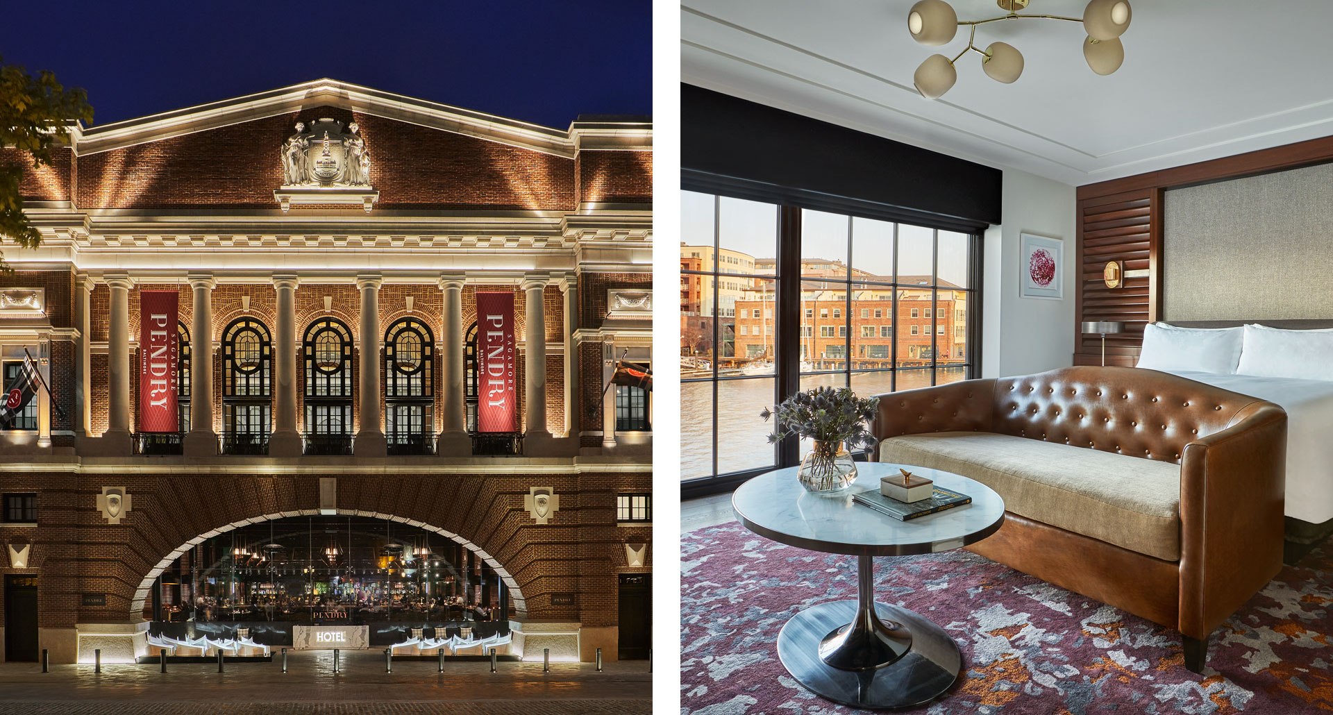 Sagamore Pendry - a boutique hotel in Baltimore