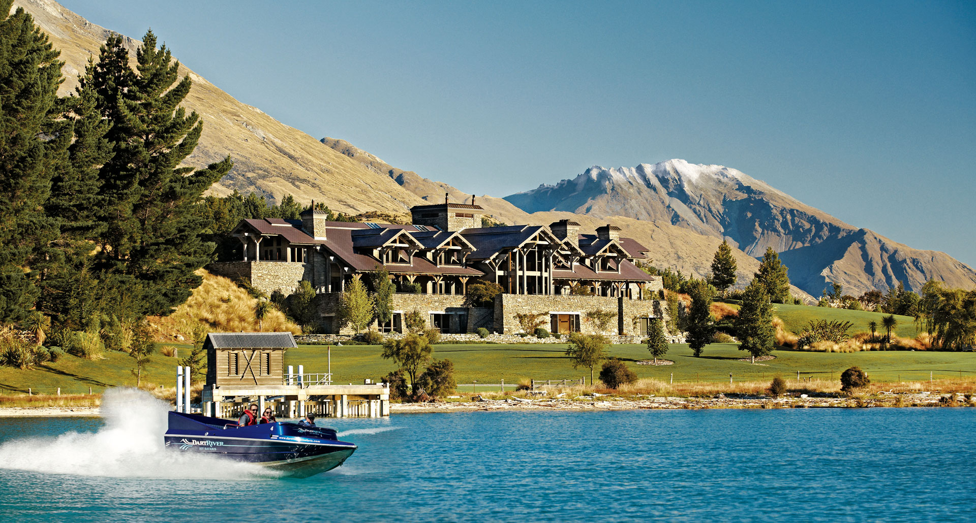 Blanket Bay - boutique hotel in Lake Wakatipu
