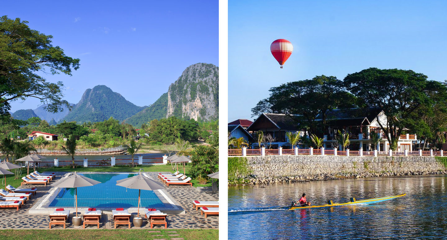 Riverside Boutique Resort - boutique hotel in Vang Vieng