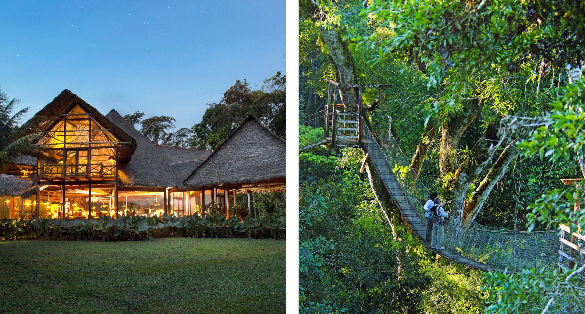 Inkaterra Reserva Amazonica - boutique hotel in Tambopata