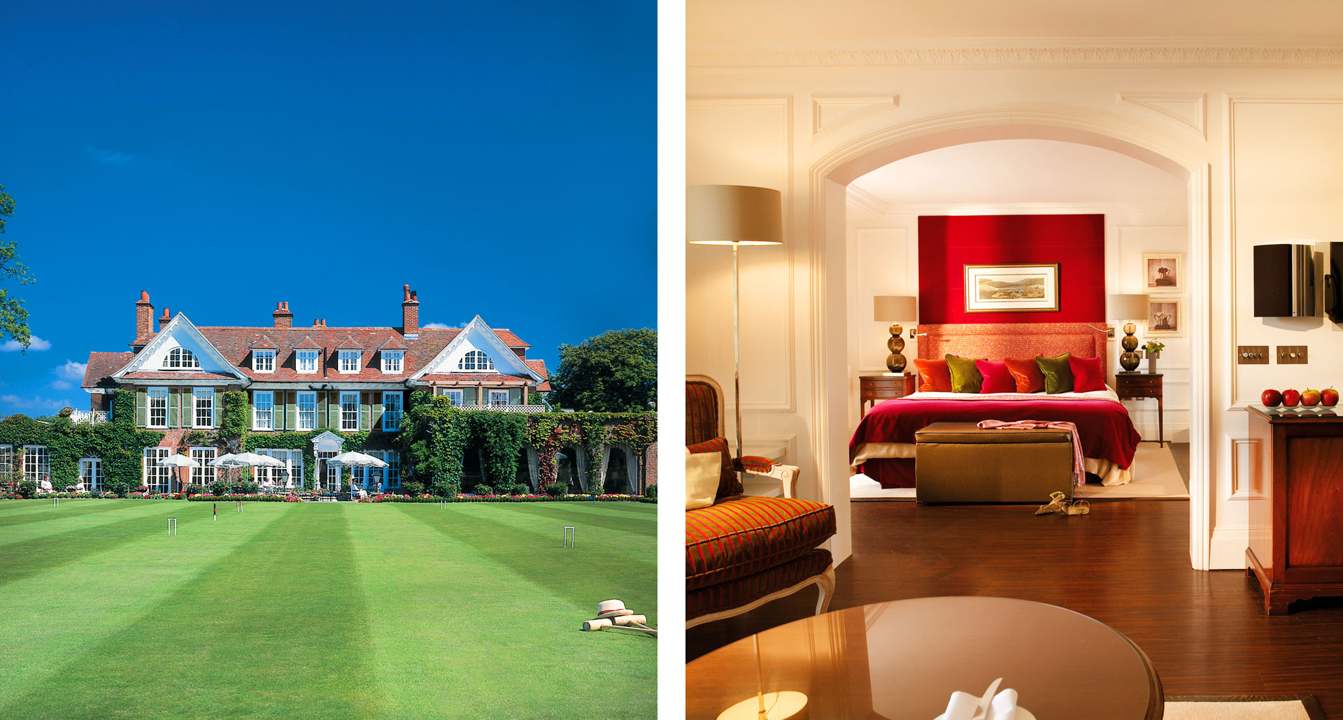 Chewton Glen Hotel - boutique hotel in Hampshire England