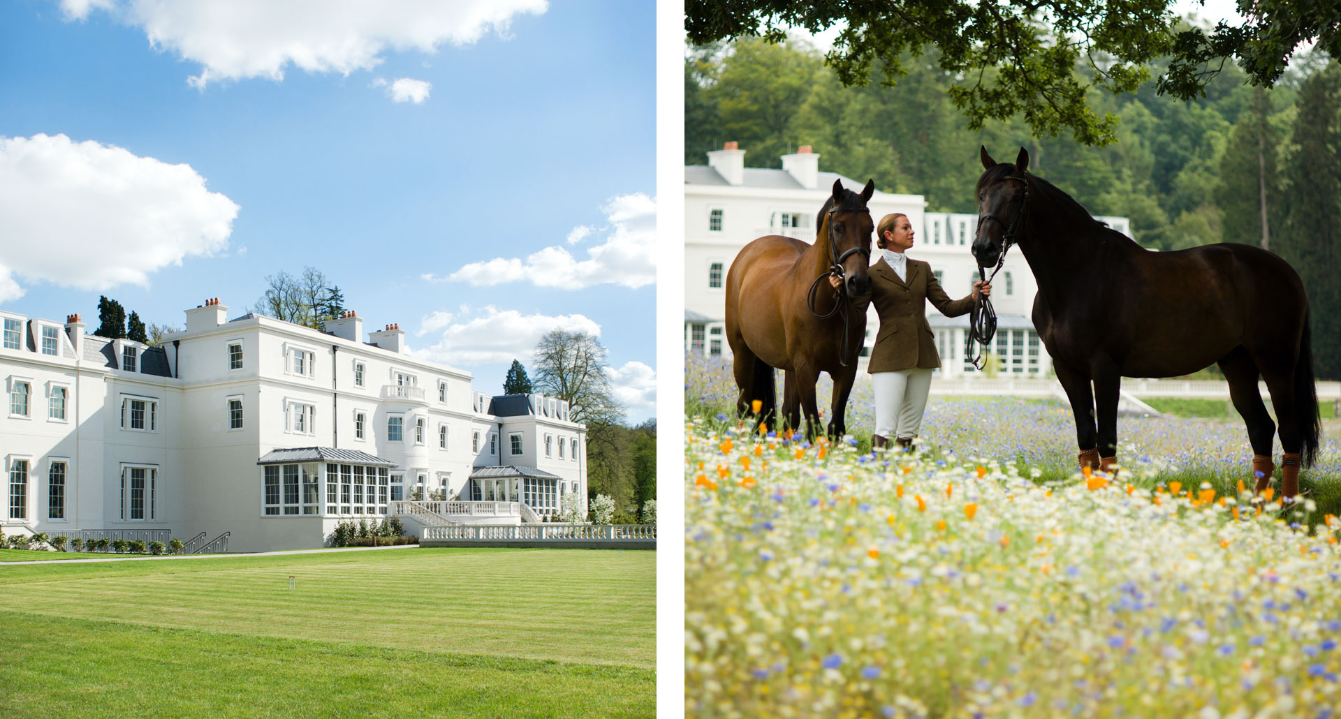 Coworth Park - boutique hotel in Berkshire