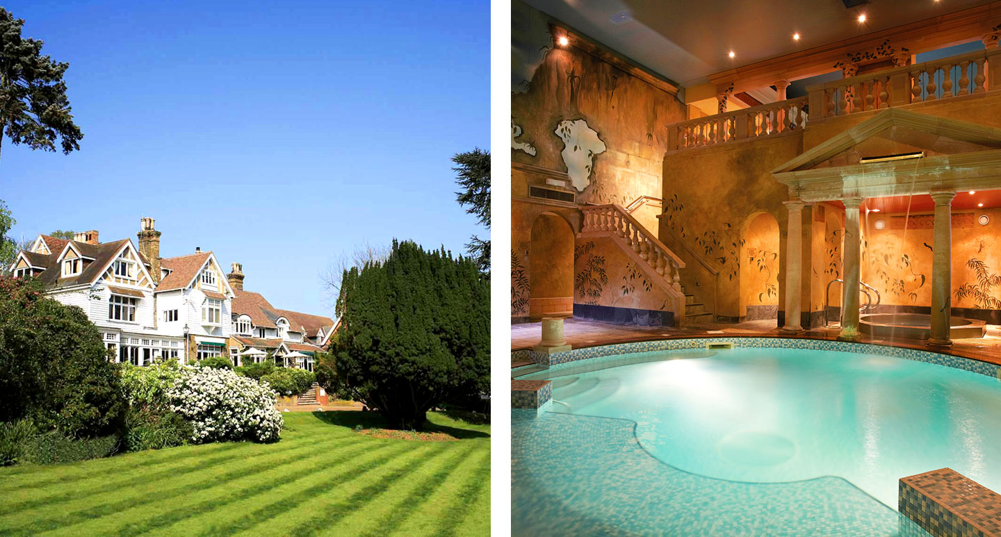 Rowhill Grange Hotel - boutique hotel in Kent
