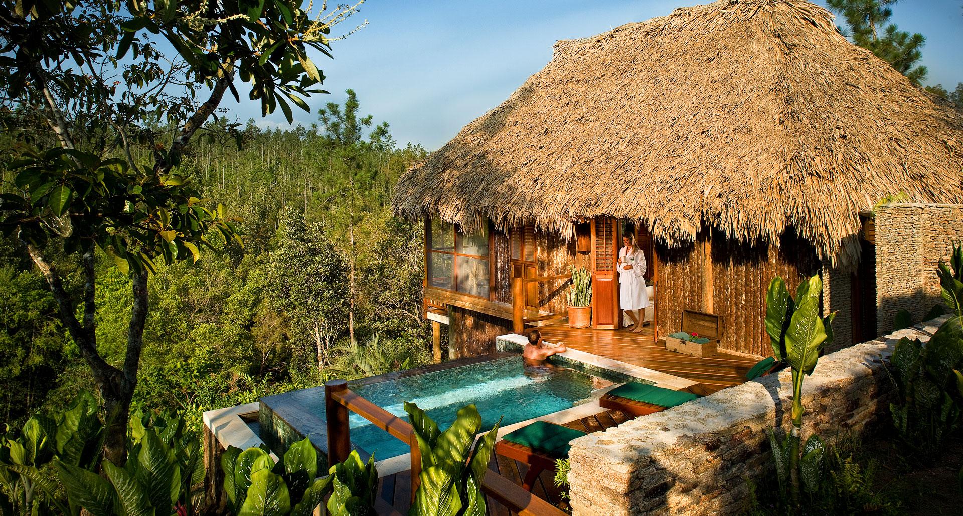 Blancaneaux Lodge - boutique hotel in San Ignacio