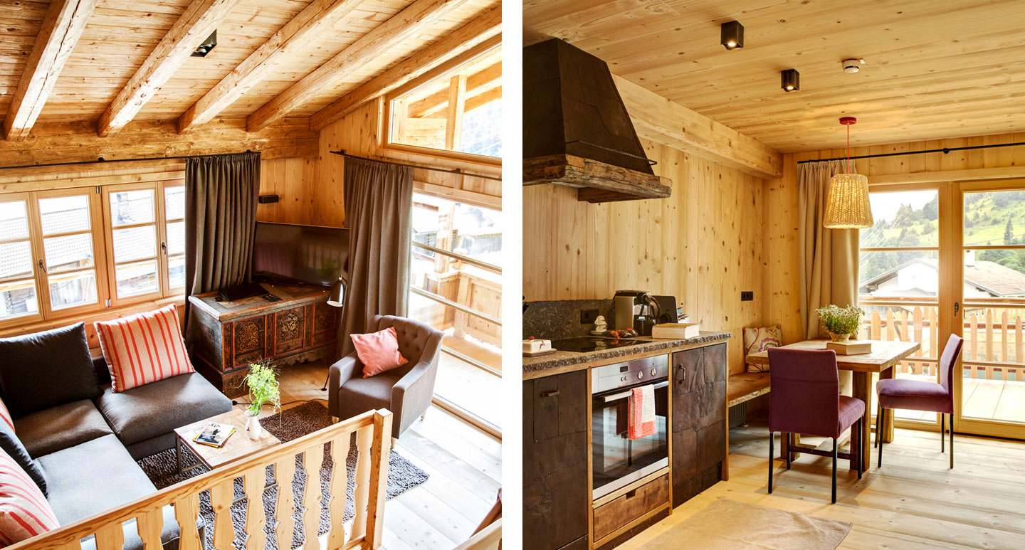 Hochleger Chalets - boutique hotel in Tyrol