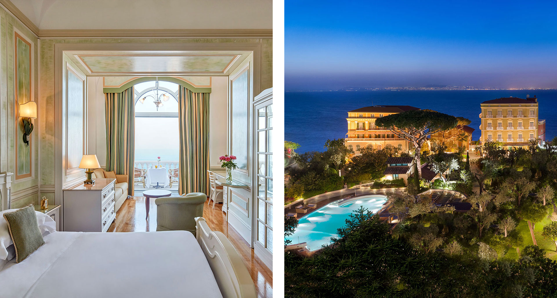 Grand Hotel Excelsior Vittoria - boutique hotel in Sorrento