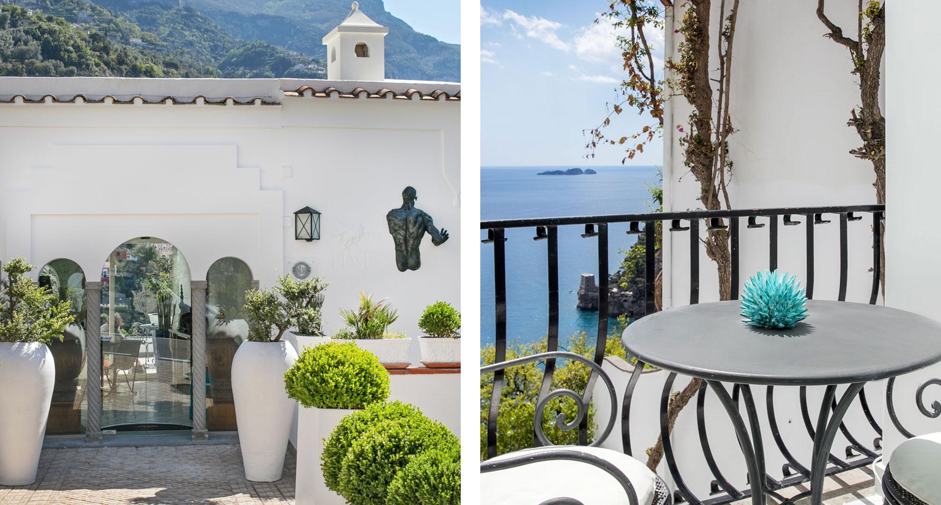 Hotel Villa Franca - boutique hotel in Positano