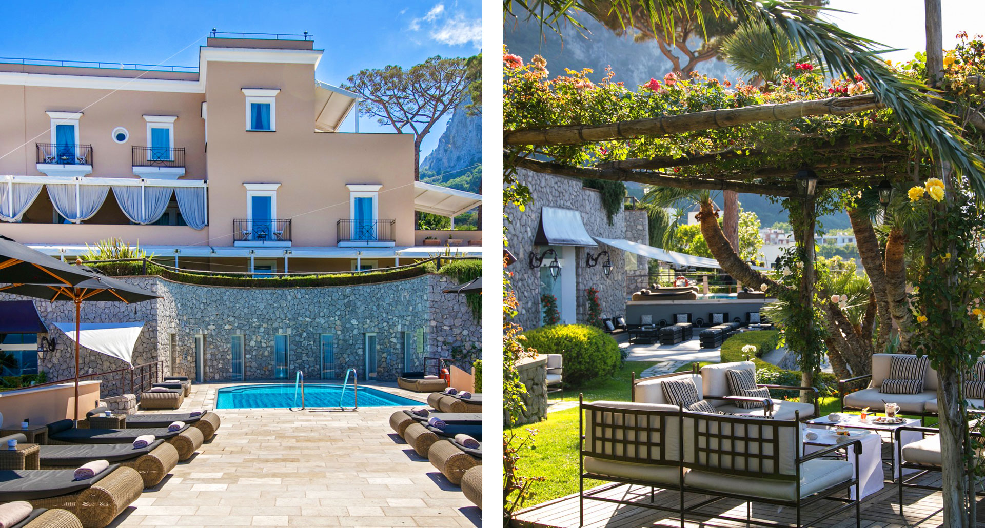 Villa Marina - boutique hotel in the Capri